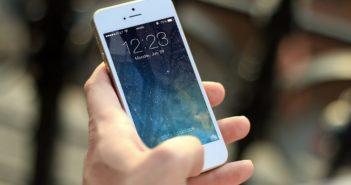 celular com aplicativo